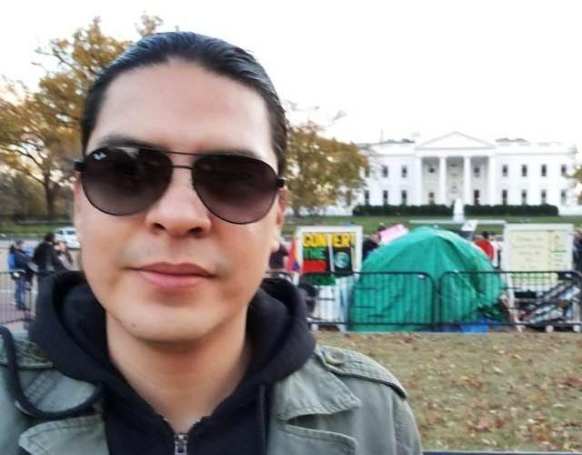 Cristian Hernández, periodista estadounidense del periódico The New York Times fue asaltado en la zona 3 de Quetzaltenango- (Foto Prensa Libre: Cortesía)