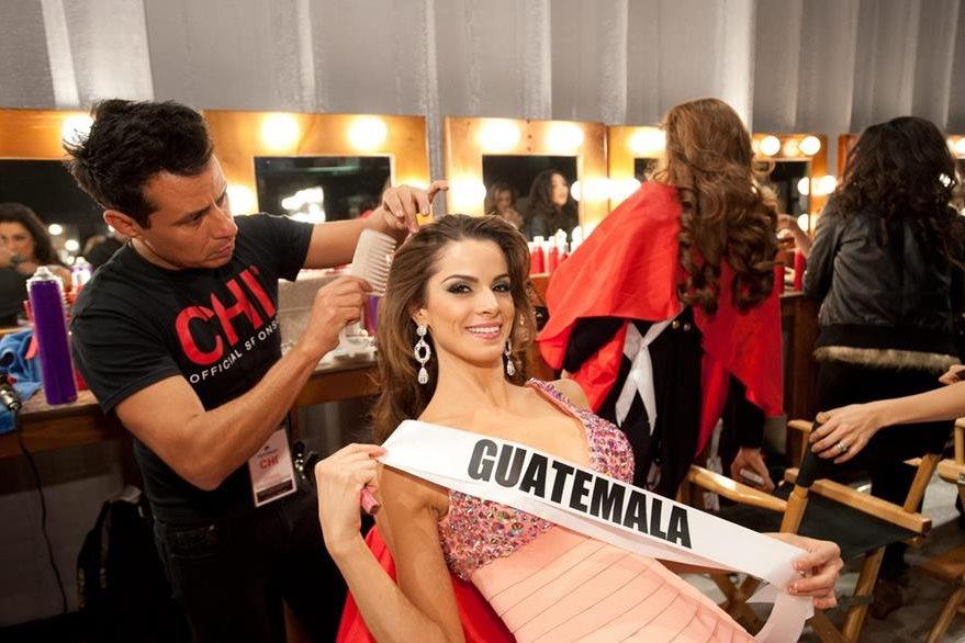 Laura Godoy fue elegida por las concursantes a Miss Universo 2012 como Miss Simpatía. (Foto: EFE)