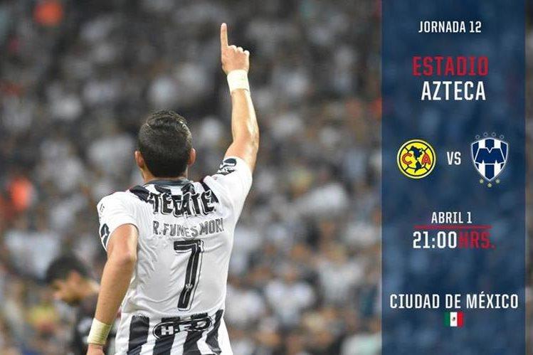 América y Monterrey protagonizarán un partido emocionante en la Liga Mx. (Foto Prensa Libre: Twitter Rayados)