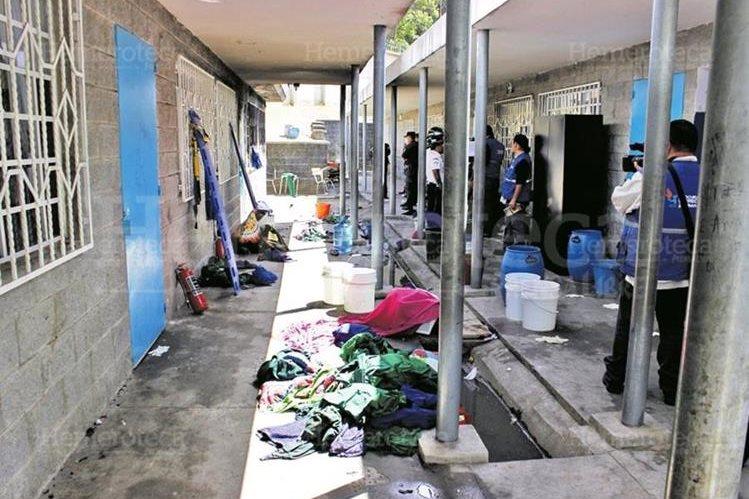 El antejuicio contra Morales se presentó por su supuesta corresponsabilidad en la tragedia del Hogar Seguro Virgen de la Asunción, donde murieron 41 niñas. (Foto Prensa Libre: Hemeroteca PL)
