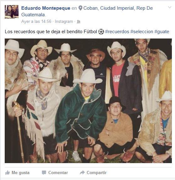 Esta es la publicación de Tránsito Montepeque en su cuenta oficial de facebook.(Foto Prensa Libre: Facebook)