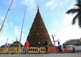 Miles de familias acudirán a actividad en la Plaza Obelisco. (Foto Prensa Libre: Esbin García)