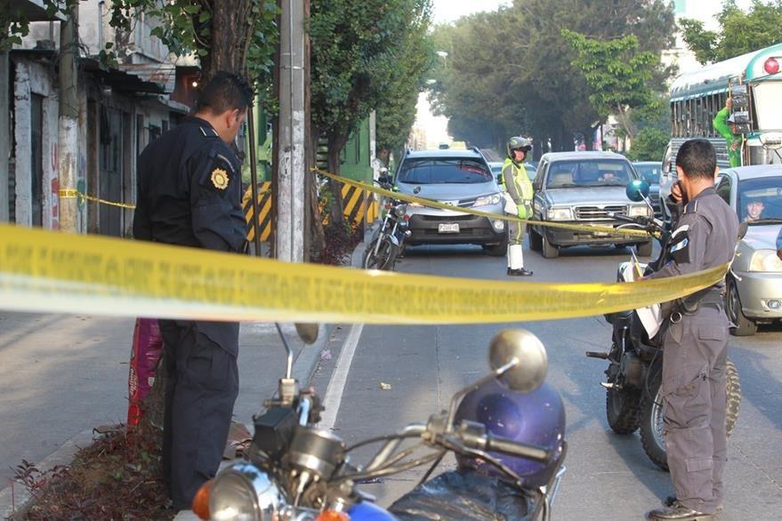 El 29 de septiembre un hombre resultó herido de bala en la 5 calle y calzada Jose Milla y Vidaurre zona 6. (Foto Prensa Libre: Hemeroteca PL)