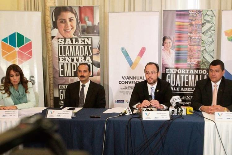 Representantes de sectores de información y gestión de procesos de Guatemala anuncian la quinta convención anual Servicios Globales.