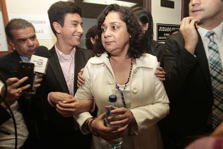 Jilesa Reinoso es señalada de enriquecimiento ilícito. (Foto Prensa Libre: HemerotecaPL)