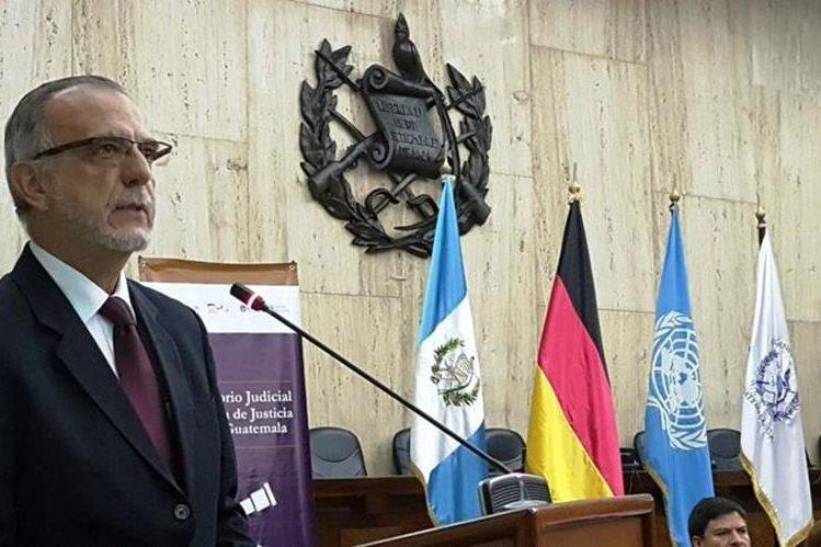 Se equivocan quienes consideran y proclaman que derrotar la reforma constitucional, significa una derrota para la Cicig o el MP, dijo Iván Velásquez (Foto Prensa Libre: @OJGuatemala)