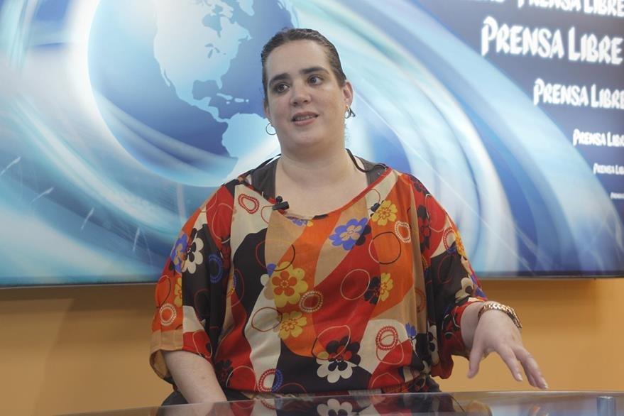 La nefróloga Regina Sosa recomienda hacerse un chequeo médico completo una vez al año. (Foto Prensa Libre, Óscar Rivas)
