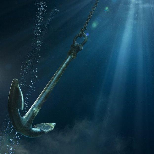 Las anclas suelen ser responsables de gran parte de los daños en los cables submarinos. ZENA HOLLOWAY/GETTY IMAGES
