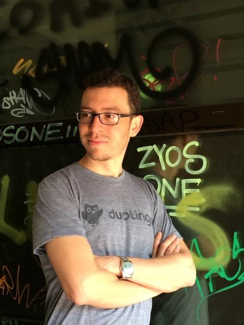 Luis von Ahn, de 38 años, informático, empresario y profesor guatemalteco. (Foto Prensa Libre: Duolingo).