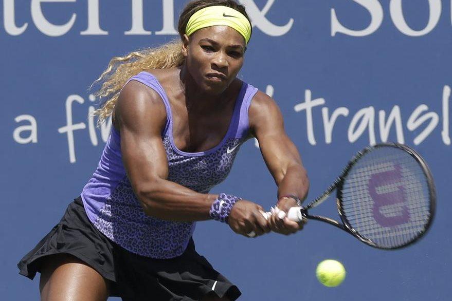 La estadounidense Venus Williams, se colocó este lunes en el puesto número seis del ránking femenino de tenis al rebasar a la bielorrusa Victoria Azarenka. (Foto Prensa Libre: AFP)