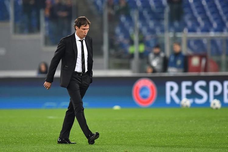 El técnico francés Rudi García fue separado de la dirección técnica de la Roma por los malos resultados. (Foto Prensa Libre: Hemeroteca)