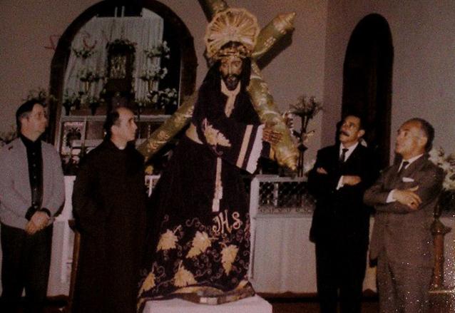 Consagración de Jesús del Rescate el 10 de marzo de 1972. (Foto: Hemeroteca PL)