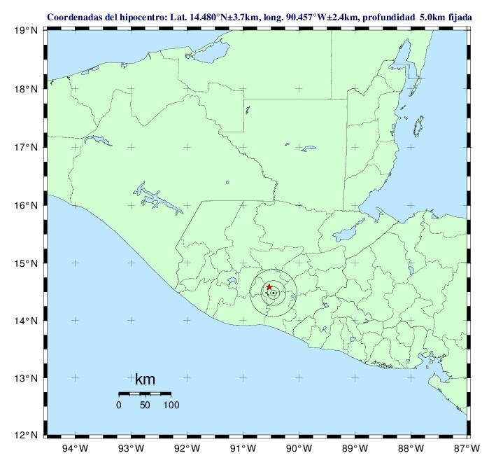 El 14 de junio de 2016 también se registró un sismo en el país. Un año después ocurrió otro de mayor magnitud. (Foto: Hemeroteca PL)