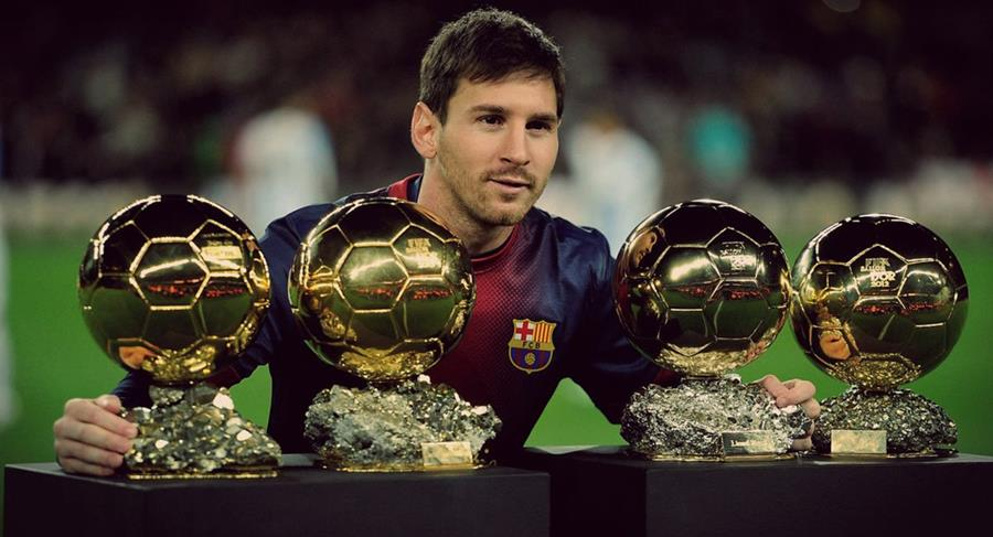 Messi no pierde el título de favorito para el Balón de Oro. (Foto Prensa Libre: Hemeroteca PL)