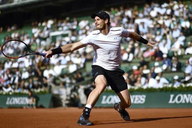 El número uno del mundo de la ATP Andy Murray buscará ganar por primera vez Roland Garros. (Foto Prensa Libre: AFP).
