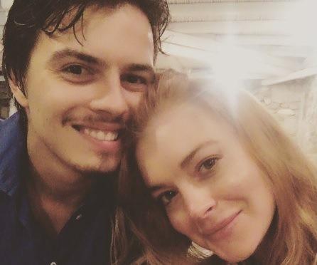 Lindsay Lohan y Egor Tarabasov se comprometieron en abril pasado. (Foto Prensa Libre: Instagram Lindsay Lohan