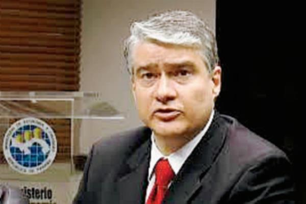 Ministro de Economía y Finanzas, Dulcidio