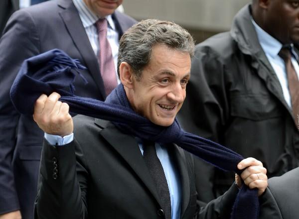 Sarkozy y otras 13 personas serán juzgadas por por financiación de la campaña del 2012. (Foto Prensa Libre:AFP).