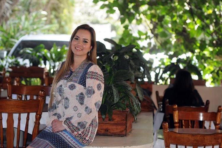 Irasema Meléndez es la presidenta de Cobán Imperial, equipo que ascendió a la Liga Nacional en su gestión. (Foto Prensa Libre: Jennifer Gómez)