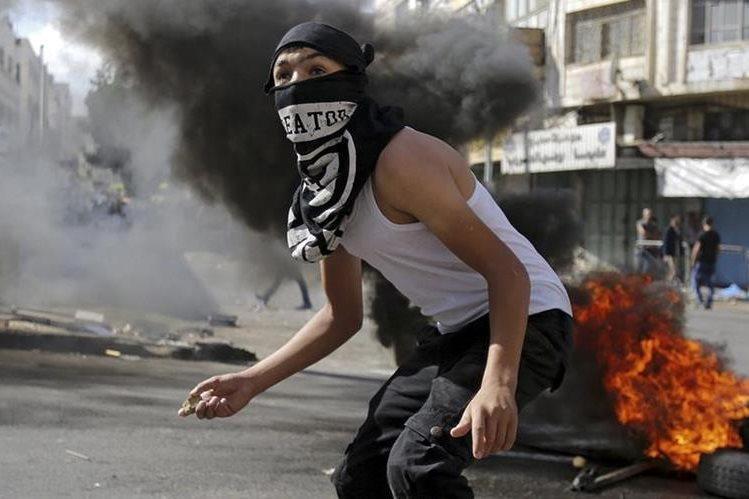 Ilustración. Los israelíes murieron por disparos de palestinos contra su vehículo. (Foto Prensa Libre: EFE).