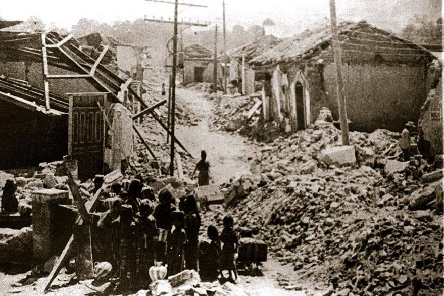 Tragedias como el terremoto de 1976 dieron lugar a infinidad de chistes y relatos jocosos, algunos de muy mal gusto. (Foto: Hemeroteca PL)