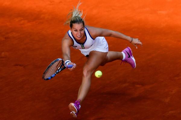 Dominika Cibulkova es la otra finalista tras superar en semis a la estadounidense Louisa Chirico. (Foto Prensa Libre: EFE).