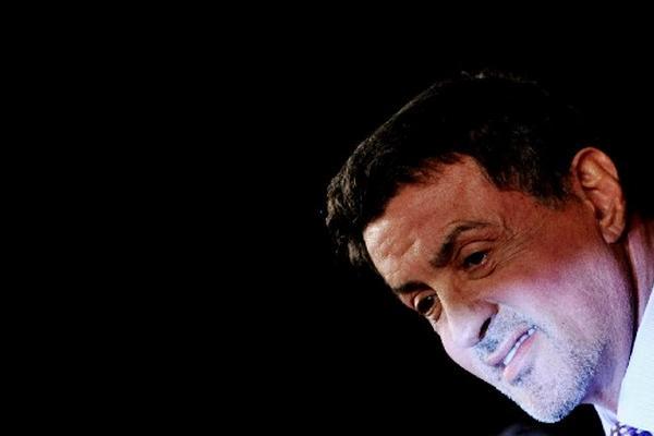 """<p>El actor estadounidense, Sylvester Stallone durante su presenación en Italia. (Foto Prensa Libre: AFP)<br _mce_bogus=""""1""""></p>"""