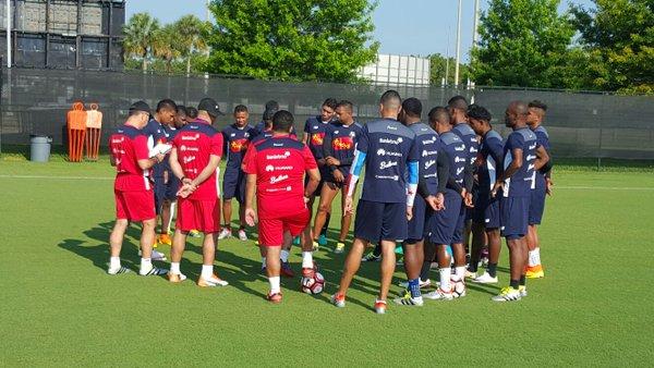 La Selección de Panamá se prepara en Orlando previo a su debut en la Copa América Centenario. (Foto Prensa Libre: Fepafut)