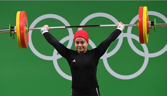 Sara Samir participa en la especialidad de hasta 69 kilogramos. (Foto Prensa Libre: internet)