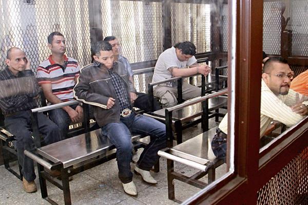 Ocho hombres son condenados a penas de prisión que van de 33 a 41 años, por la muerte del empresario Byron Geovani Andrade Salazar —fotografía inserta—, cometida en el 2011.