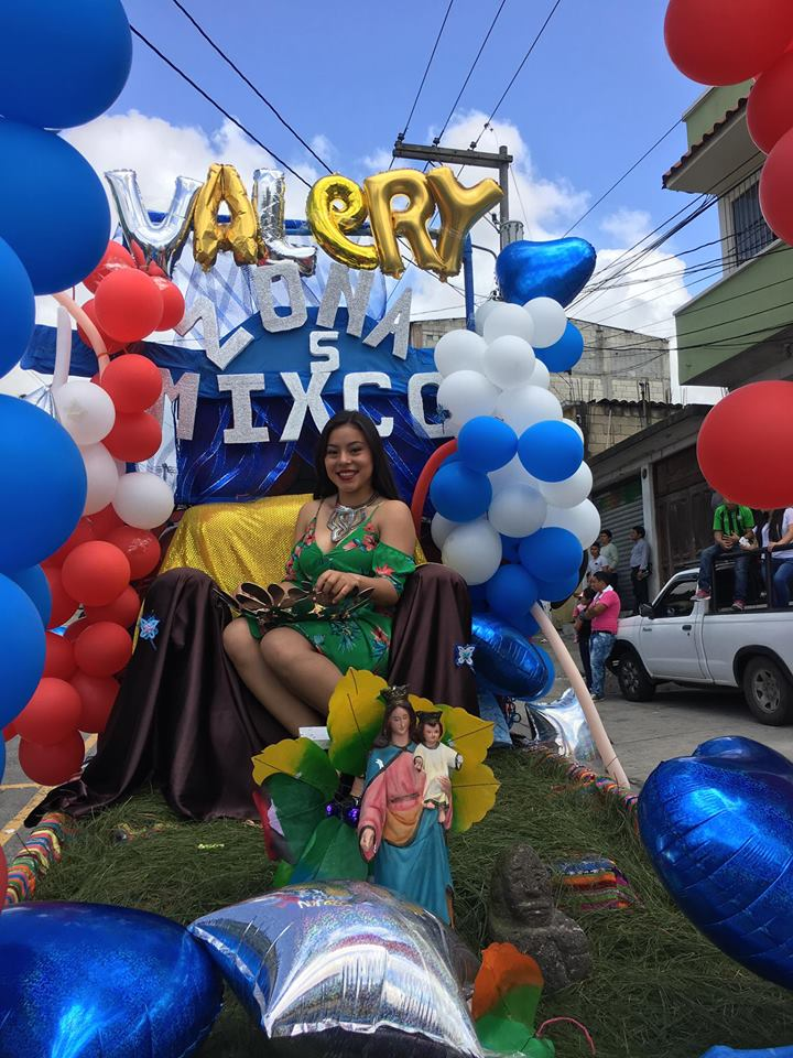 Valery Alejandra Morales, representante de la zona 5 de Mixco. (Foto Prensa Libre: Municipalidad de Mixco)