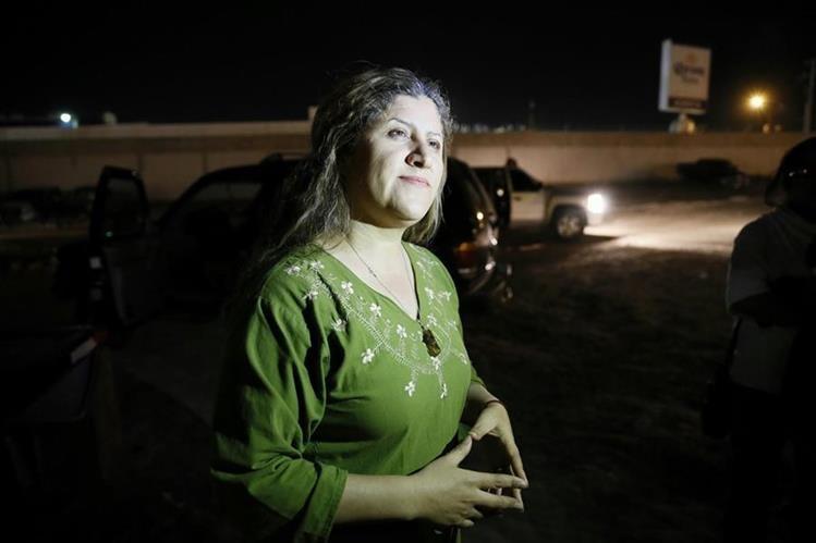 Imelda Marrufo, coordinadora de la Red Mesa de Mujeres de Ciudad Juárez.(Foto Prensa Libre: EFE).