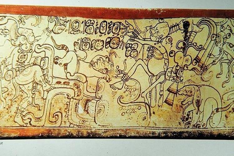 Algunos vestigios mayas del periodo Clásico tienen grabadas escenas del Popol Vuh. (Foto Prensa Libre: Hemeroteca PL)