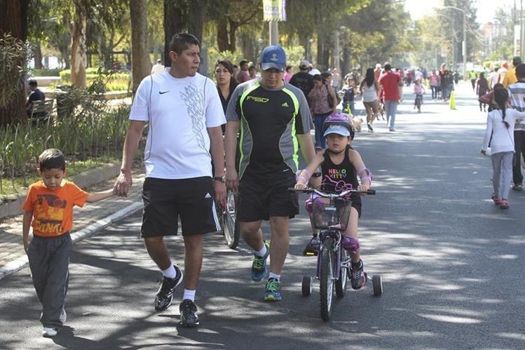 Siempre hay oportunidad para ejercitarse, ya sea en bicicleta, caminata o carrera. (Foto Hemeroteca PL)
