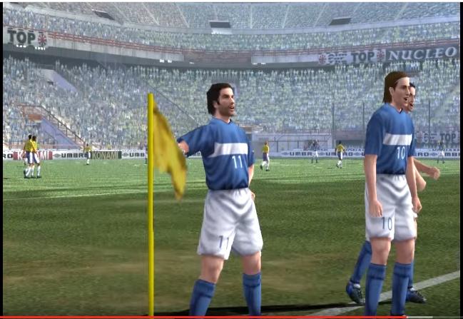 El Pro Evolution Soccer (PES) se consagró como un juego de culto por su realismo (Foto Prensa Libre: YouTube).
