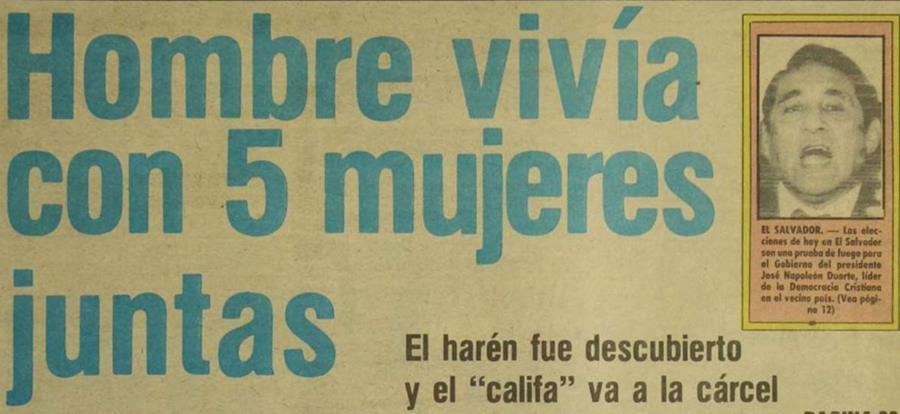 La noticia llegó al titular de Prensa Libre el 31 de marzo de 1985.