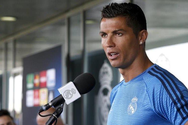 Cristiano Ronaldo sueña con retirarse en el Real Madrid. (Foto Prensa Libre: EFE)