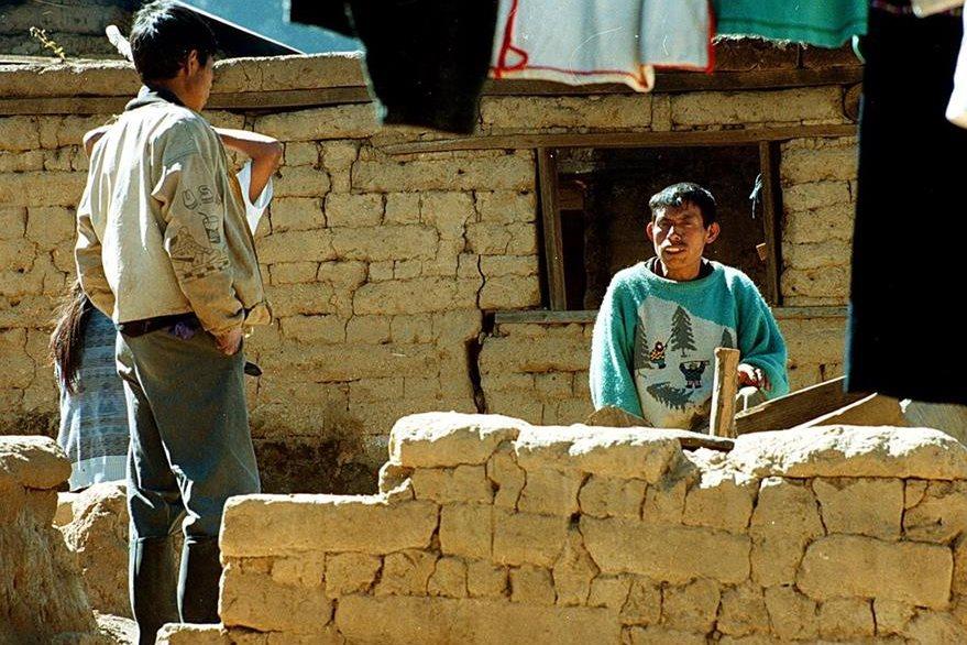 Muchos pobladores se resisten a dejar sus propiedades en el antiguo asiento municipal. (Foto: Hemeroteca PL)