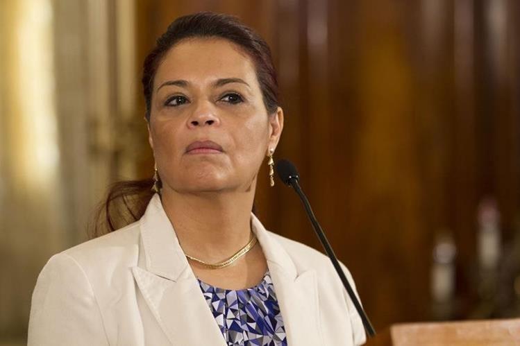 Exvicepresidenta Roxana Baldetti. (Foto Prensa Libre: HemerotecaPL)