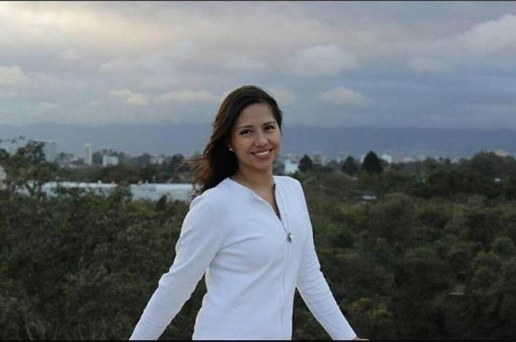 Pilar Castillo es una joven que lucha contra el cáncer. (Foto Prensa Libre: Cortesía)