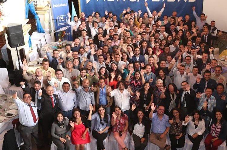 Equipo de Redacción de Prensa Libre en 2017. (Foto: Hemeroteca PL)