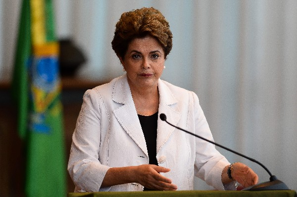 La presidenta de Brasil, Dilma Rousseff, suspendida desde mayo. (EFE).