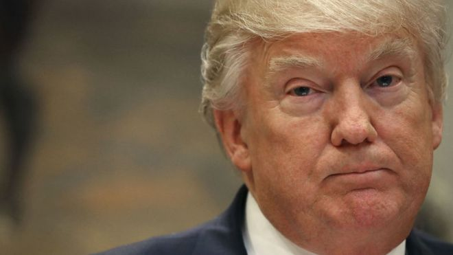 Trump despidió a Comey de forma inesperada. GETTY IMAGES
