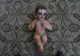 Niño Dios de la Catedral Metropolitana, tallado posiblemente en el siglo XVII. (Foto: Hemeroteca PL)