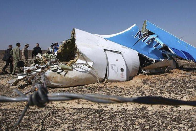 La tragedia en el Sinaí acabó con la vida de 224 personas.(Foto Hemeroteca PL).