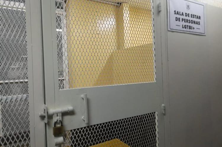 El OJ habilitó el espacio para que los derechos de las personas LGBTI+ no sean violentados. (Foto Prensa Libre: Javier Lainfiesta)