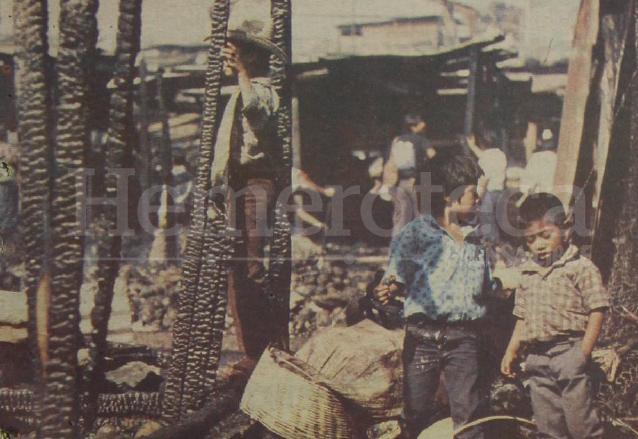 En 1992 se produjo un incendio en la Terminal que dejó más de medio millón de quetzales en pérdidas. (Foto: Hemeroteca PL)