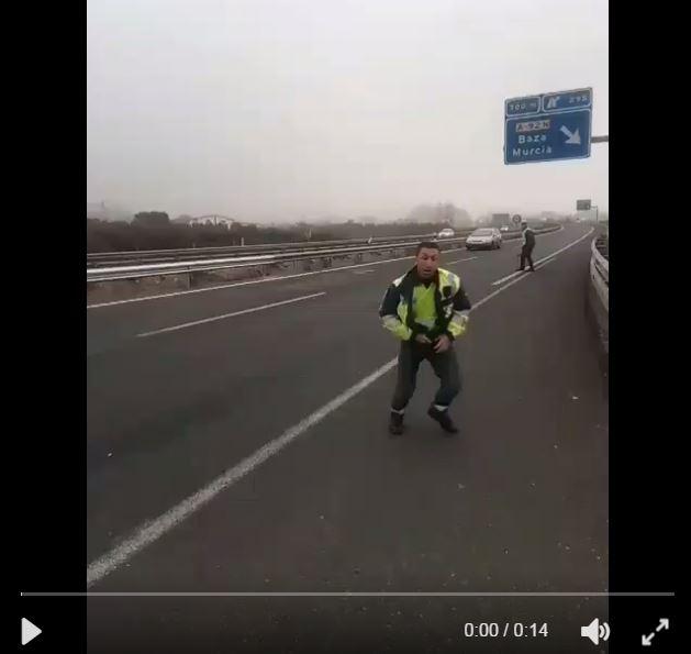 Captura de pantalla del video publicado en redes sociales. (Twitter/@zoidoJI).