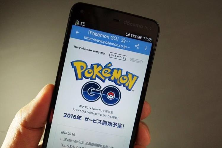 El videojuego Pokémon Go podría llegar hasta Brasil para los Olímpicos de Río 2016. (Foto Prensa Libre: AFP).