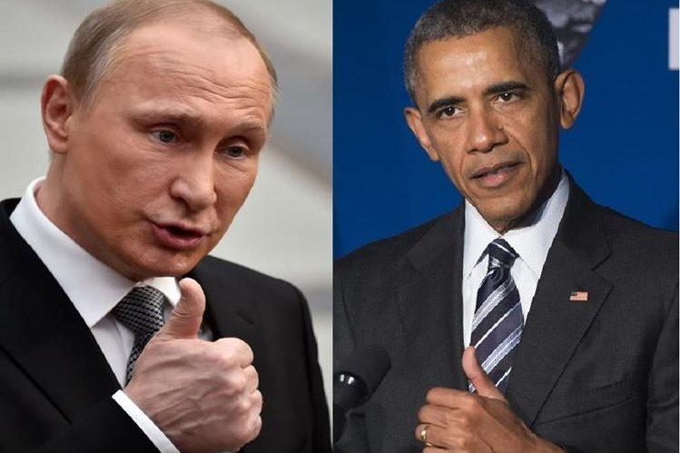 Vladímir Putin, y Barack Obama, acordaron reforzar el alto el fuego en Siria. (AFP).